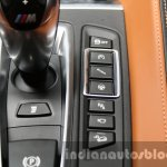 2015 BMW X6 M buttons first drive review