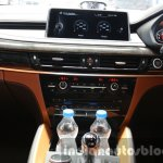2015 BMW X6 M center console first drive review