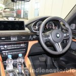 2015 BMW X6 M dashboard first drive review