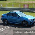 2015 BMW X6 M dynamic shot first drive review