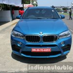 2015 BMW X6 M front first drive review