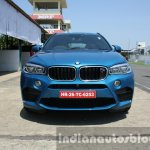 2015 BMW X6 M front low first drive review
