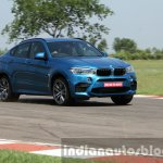2015 BMW X6 M front quarter dynamic first drive review