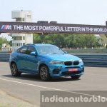 2015 BMW X6 M front three quarter dynamic first drive review