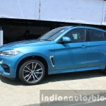 2015 BMW X6 M front three quarter first drive review
