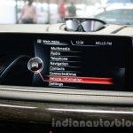 2015 BMW X6 M iDrive display first drive review