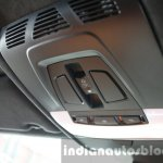 2015 BMW X6 M overhead console first drive review