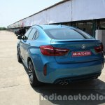 2015 BMW X6 M rear quarter first drive review