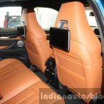2015 BMW X6 M rear seating first drive review