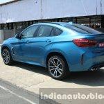 2015 BMW X6 M rear three quarter first drive review