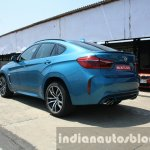 2015 BMW X6 M rear three quarter low first drive review