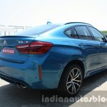 2015 BMW X6 M rear three quarter right first drive review