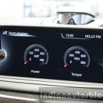 2015 BMW X6 M sport display first drive review