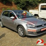 2015 VW Golf TSI front quarter spotted testing in India