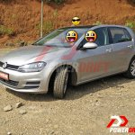 2015 VW Golf TSI front three quarter spotted testing in India