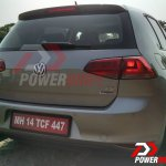 2015 VW Golf TSI rear quarter spotted testing in India