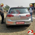 2015 VW Golf TSI rear spotted testing in India