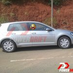 2015 VW Golf TSI side spotted testing in India