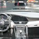 2016 Alfa Romeo Giulia dashboard at DIMS 2015