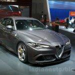 2016 Alfa Romeo Giulia front quarter at DIMS 2015