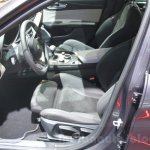 2016 Alfa Romeo Giulia front seats at DIMS 2015