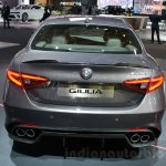2016 Alfa Romeo Giulia rear at DIMS 2015