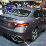 2016 Alfa Romeo Giulia rear quarter at DIMS 2015