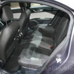 2016 Alfa Romeo Giulia rear seats at DIMS 2015