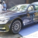 2016 BMW 7 Series front quarter India preview spied