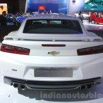 2016 Chevrolet Camaro rear at the 2015 Dubai Motor Show