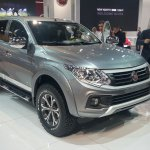2016 Fiat Fullback Double Cab front quarters at the 2015 Dubai Motor Show