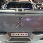 2016 Fiat Fullback Double Cab rear at the 2015 Dubai Motor Show