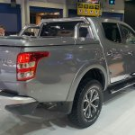 2016 Fiat Fullback Double Cab rear quarter at the 2015 Dubai Motor Show