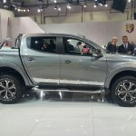 2016 Fiat Fullback Double Cab side at the 2015 Dubai Motor Show