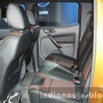 2016 Ford Ranger Wildtrak rear cabin at the 2015 Dubai Motor Show