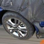 2016 Hyundai Elantra alloy wheel caught testing in China