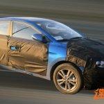 2016 Hyundai Elantra front quarter caught testing in China