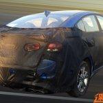 2016 Hyundai Elantra rear quarter caught testing in China