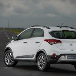 2016 Hyundai HB20X crossover (facelift) rear three quarter launched in Brazil