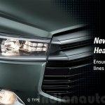 2016 Toyota Innova LED projector headlight press images