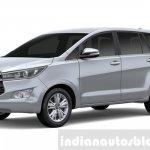 2016 Toyota Innova Silver Metallic press images