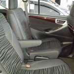 2016 Toyota Innova captains chairs dealer spied