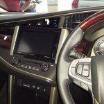 2016 Toyota Innova dashboard dealer spied
