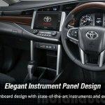 2016 Toyota Innova dashboard press images