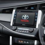2016 Toyota Innova entertainment system press images