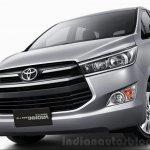 2016 Toyota Innova front quarter  press images