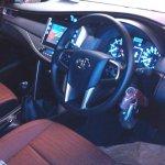 2016 Toyota Innova interior Black snapped