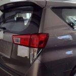 2016 Toyota Innova rear dealer spied