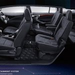 2016 Toyota Innova seating arrangement