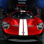 2017 Ford GT front at the 2015 Dubai Motor Show